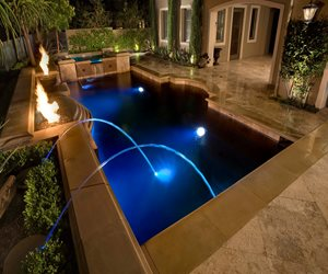 Rectangular Pool Alderete Pools Inc. San Clemente, CA