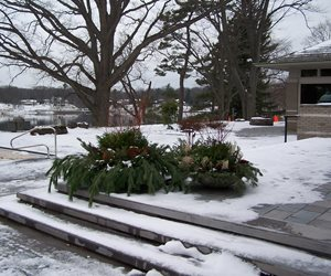Snow, Winter Landscape Blue Ridge Landscaping Holland, MI