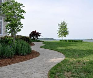 Stone Paver Path, Winding Walkway StoneScapes Design Hanover, MD