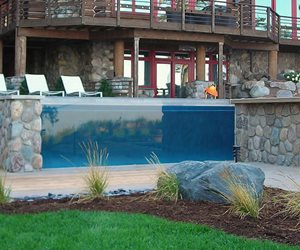 Stone Veneer Apex Landscape Grand Rapids, MI