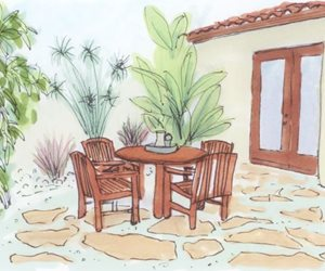 Patio, Planning, Drawing Swimming Pool Landscaping Network Calimesa, CA