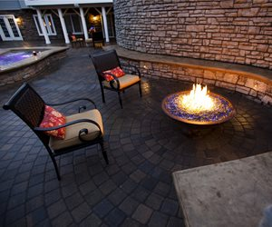 Concrete Bowl Fire Pit Mid Atlantic Enterprise Inc Williamsburg, VA