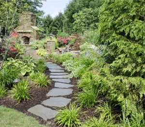 Bluestone Path Rice's Nursery & Landscaping North Canton, OH