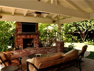 Backyard Living Room