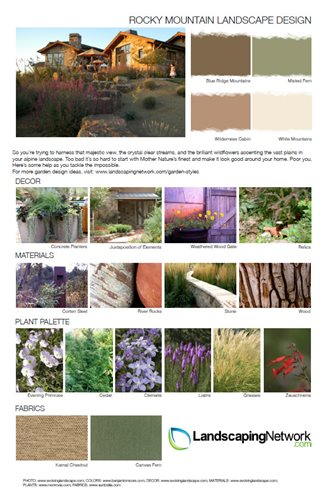 Garden Style Design Sheets Landscaping Network,Pink Baby Shower Nail Designs