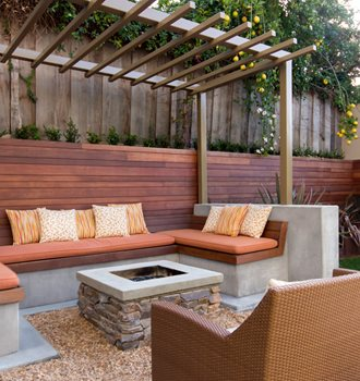 Modern backyard ideas landscaping network Modern backyards