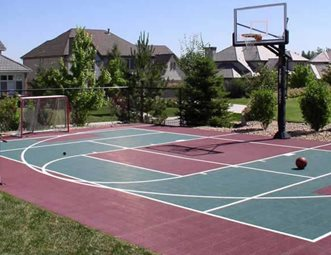 Backyard Sport Court Designs By Sundown Englewood, CO