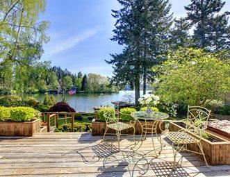 Deck Planters, Lake View Deck Design Landscaping Network Calimesa, CA