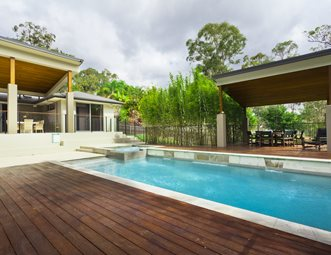 Modern Pool Designs And Landscaping deck design pictures - gallery - landscaping network