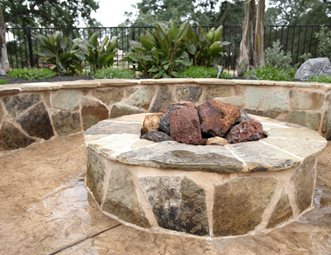 fire pit pictures - gallery - landscaping network - Patio Fire Pit Ideas