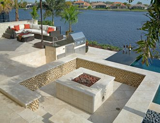 fire pit pictures - gallery - landscaping network - Patio Designs With Fire Pit Pictures