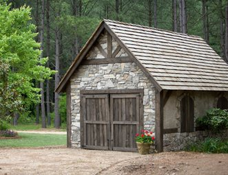 Garden sheds pictures gallery landscaping network for Stone garden shed designs