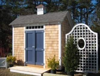 Garden Sheds Massachusetts garden sheds pictures - gallery - landscaping network
