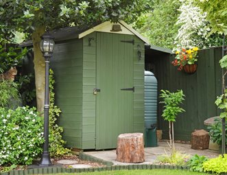 Garden Sheds Pictures garden sheds pictures - gallery - landscaping network
