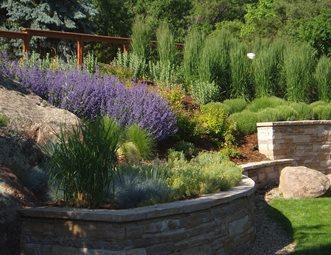 Xeriscaped Hillside Hillside Landscaping J&S Landscape Longmont, ...