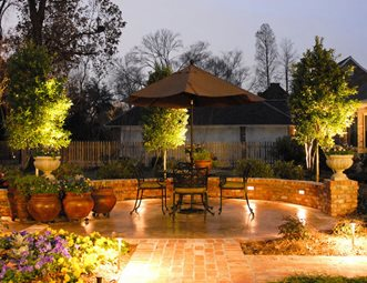 Lighting Pictures Gallery Landscaping Network - Backyard landscape lighting