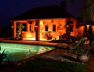 Pool Lights Ramada Lighting Angelo S Lawn Scape Of Louisiana Inc Baton Rouge