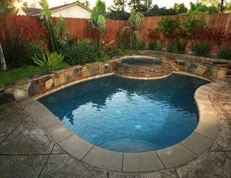Los angeles landscaping pictures gallery landscaping for Pool design 101