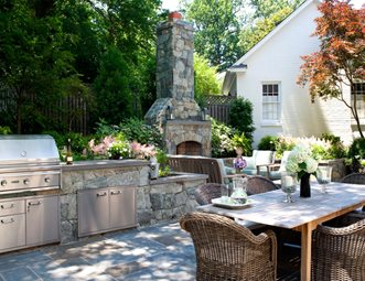 Outdoor Kitchen Design Ideas Backyard outdoor kitchen pictures - gallery - landscaping network
