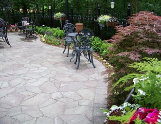 Faux Flagstone Paver Patio Patio Action Landscaping, Inc. Imperial, MO