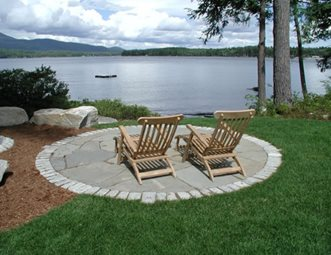 Round Patio patio pictures - gallery - landscaping network