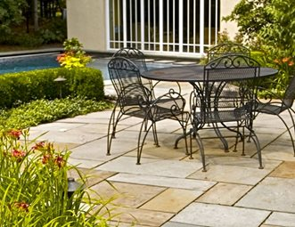 stone patio light color patio liquidscapes pittstown nj - Stone Patio Designs