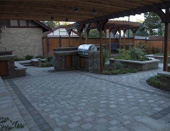 Paver Patio Arcadia Design Group Centennial, CO