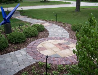 Paver Walkway Pictures - Gallery - Landscaping Network