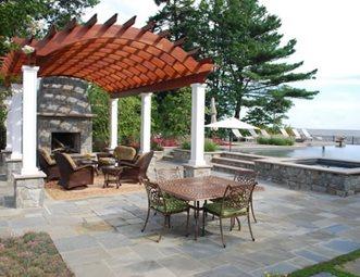 Wonderful Arched Pergola, Redwood Pergola Pergola And Patio Cover Walnut Hill  Landscape Company Annapolis, MD