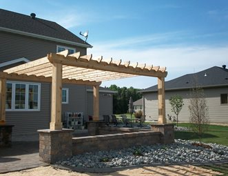 Pergola And Patio Cover Pictures Gallery Landscaping