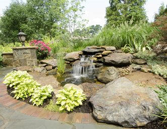 pond and waterfall pictures - gallery - landscaping network
