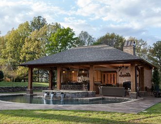 Pool Houses Pictures Gallery Landscaping Network