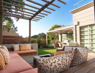 Small Modern Backyard Small Yard Landscaping Studio H Landscape  Architecture Newport Beach, CA