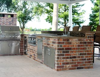 outdoor kitchen designs houston texas