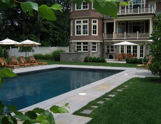 rectangular swimming pool traditional pool harmony design group westfield nj