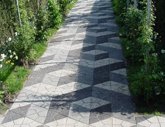 Paver Walkway Designs Alluring Walkway And Path Pictures  Gallery  Landscaping Network