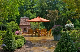 Flagstone Patio Small's Landscaping Inc Valparaiso, IN