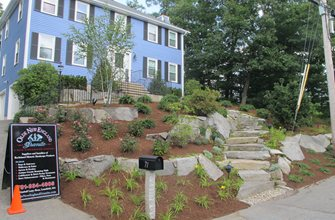Front Granite Steps Olde New England Granite Lynnfield, MA