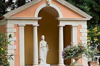 cast stone pavilion