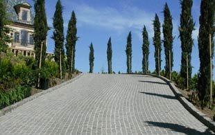 Modular Cobblestone Paving