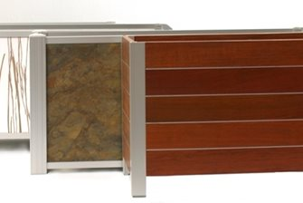 tropical hardwoods to recycled resin panels