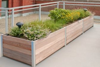 DeepStream Designs planter.