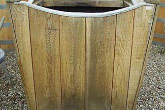 contemporary Belgian oak box