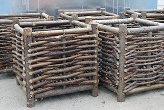 Hazelwood Box Planters