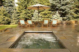prefab square spa