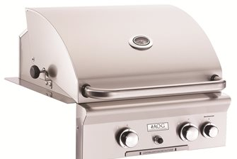 24 Inch Built-In Grill with Rotisserie