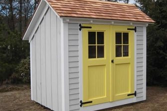 Shed, Double Doors