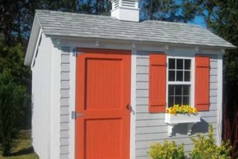 Saltbox, Shed, Pine