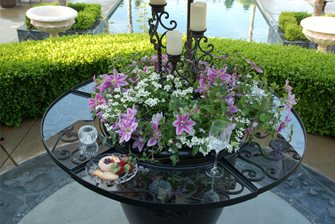 Garden Pot Table Attachment