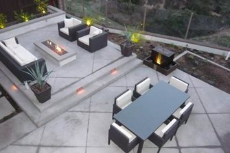 back patio, outdoor living